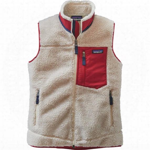 Classic Retro-x Fleece Vest - Womens