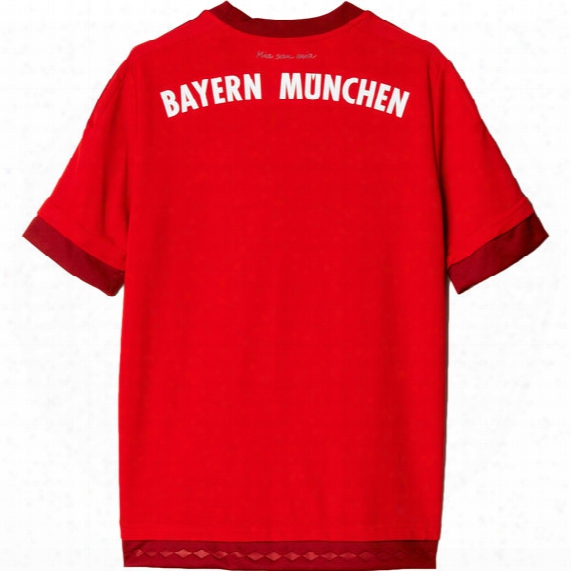 Fc Bayern Home Replica Player Jersey - Boys