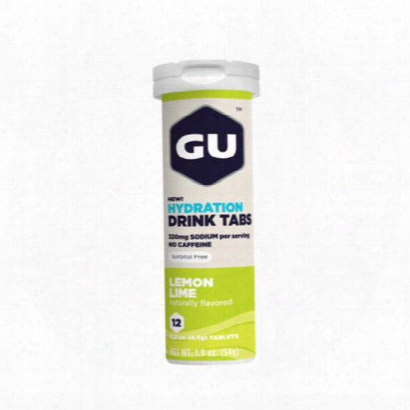 Gu Hydration Drink Tabs- Lemon Lime