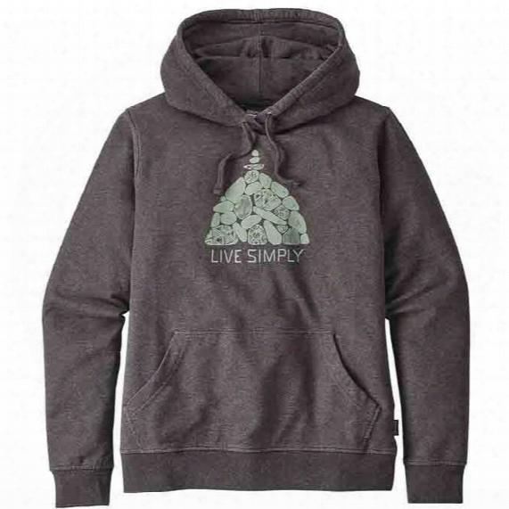 Live Simply Summit Stones Midweight Hoody - Womens