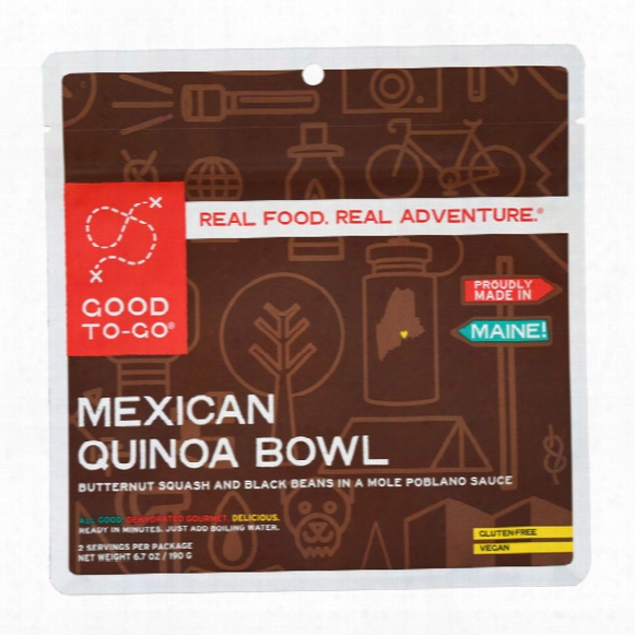 Mexican Quinoa Bowl Dehydrated Meal � 2 Servings