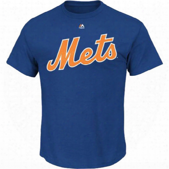Mlb New York Mets Noah Syndergaard Royal Official Name And Number T-shirt