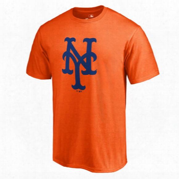 Mlb New York Mets Primary Logo T-shirt - Mens