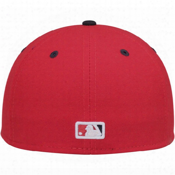 Mlb Washington Nationals Authentic Collection On-field 59fifty Performance Fitted Hat - Mens