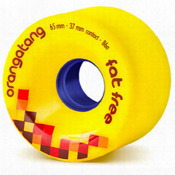 Orangatang Fat Free 65mm/86a Longboard Wheel