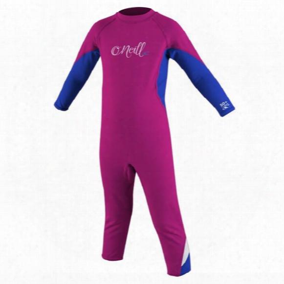 Ozone Toddler Full Sunsuit - Girls