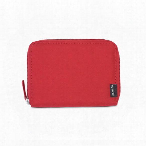 Rfidsafe Lx150 Rfid Blocking Zippered Passport Wallet