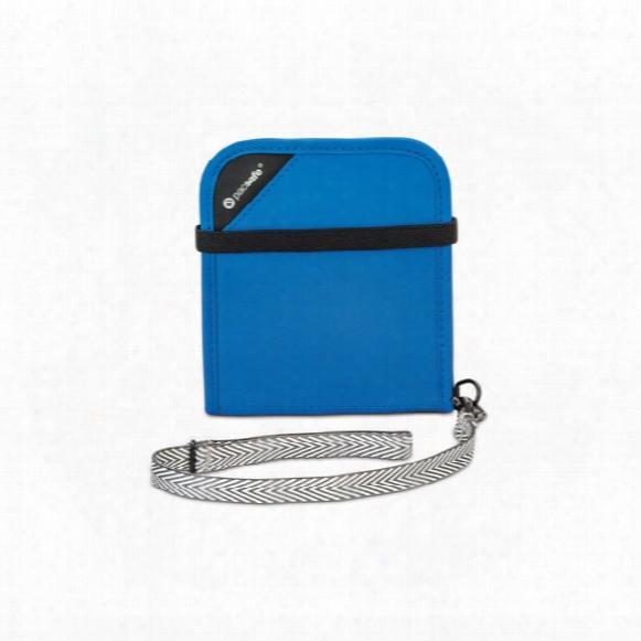 Rfidsafe V100 Anti-theft Rfid Blocking Bi-fold Wallet
