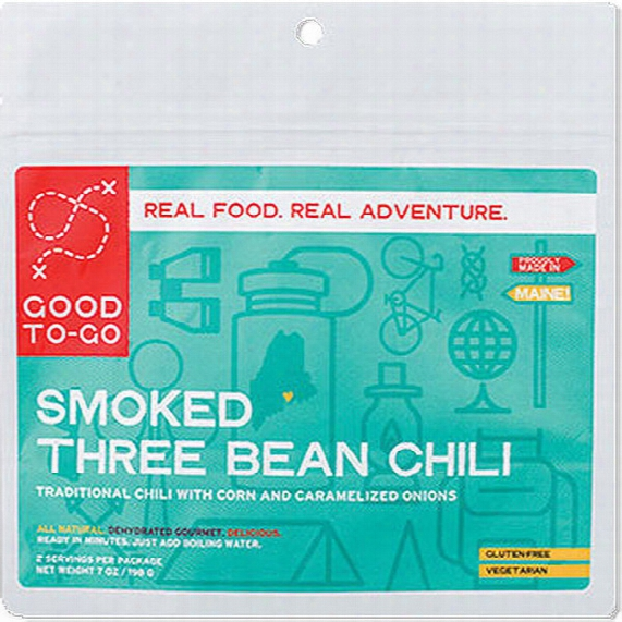 Smoked Three Bean Chili - Serves 2