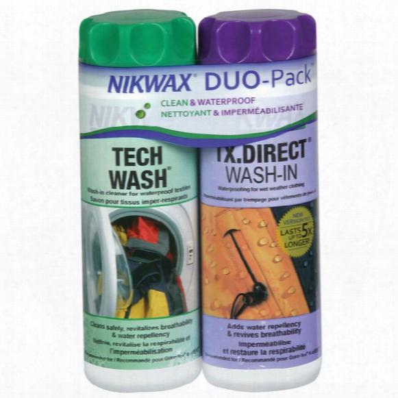 Softshell Clean/waterproof Duopack
