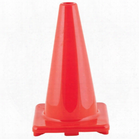 Sports Hi Visibility Flexible Vinyl 18-inch Cone