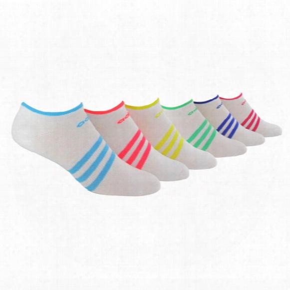 Superlite No-show Sock ( 6 Pair S) - Womens