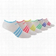 SUPERLITE NO-SHOW SOCK ( 6 PAIRS ) - WOMENS