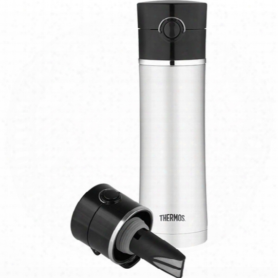 Vacuum Insulated Bottle With Tea Infuser