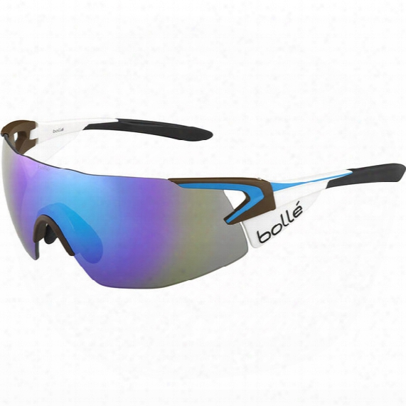 5th Element Pro Cycling Sunglasses - Blue Violet Oleo Af Lens