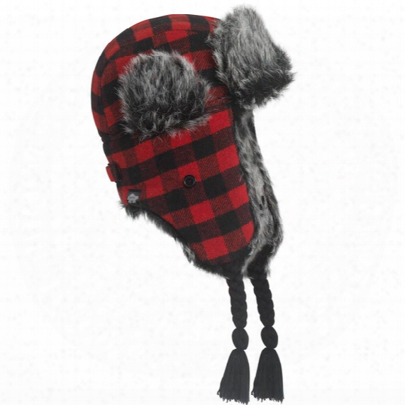 Dar Hey Faux Fur Lined Trapper Hat - Boys