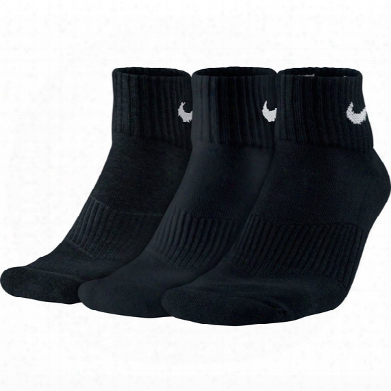 Dri-fit Cushioned Crew Sock - 3 Pack