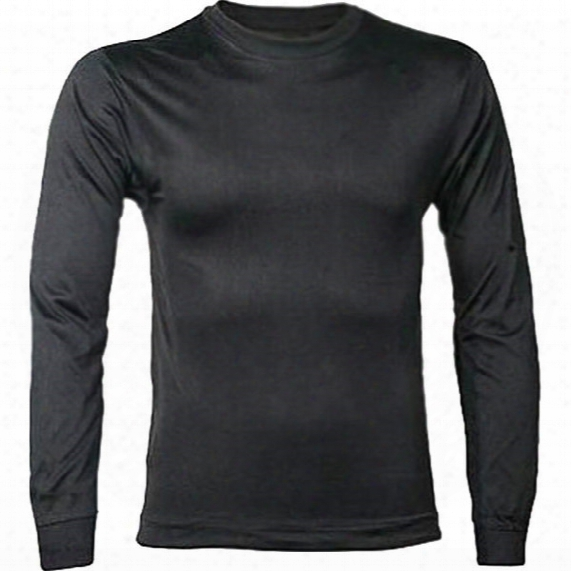 Filament Silk Long Sleeve Crew Top - Mens
