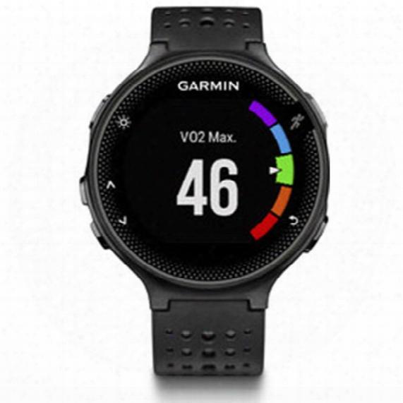 Garmin Forerunner 235 Watch - Black And Gray