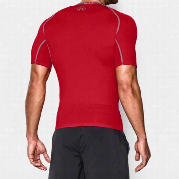 Heatgear Armour Compression Short-sleeve T-shirt - Mens