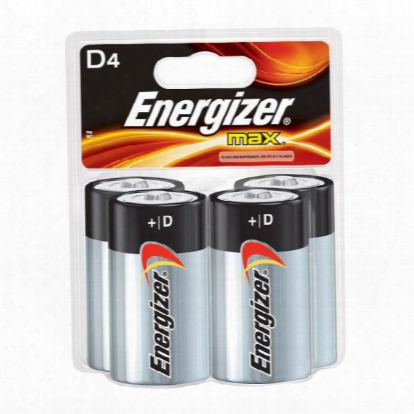 Max D Battery - 4 Pack