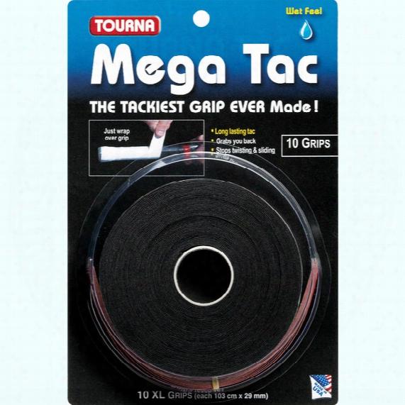 Mega Tac Overgrip - 10 Pack
