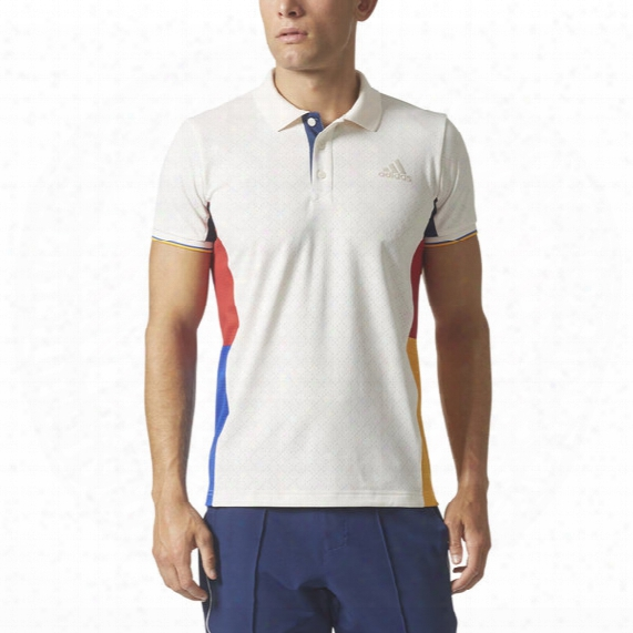 New York Color Blocked Polo - Mens