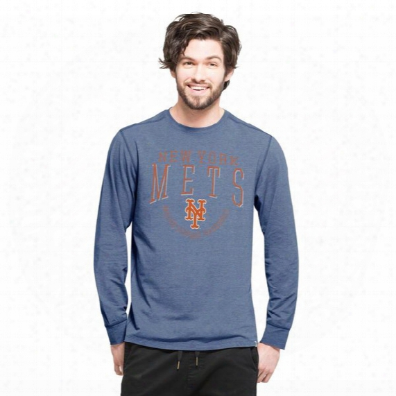 New York Mets Forward Cadence Long Sleeve Tee - Mens
