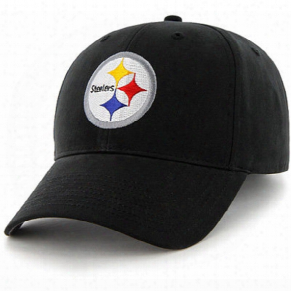 Nfl Pittsburgh Steelers Basic Structured Hat - Youth