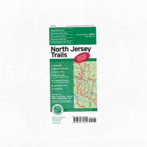 North Jersey Trail Map