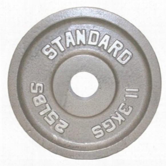 Standard Gray Plate - 25 Lbs.