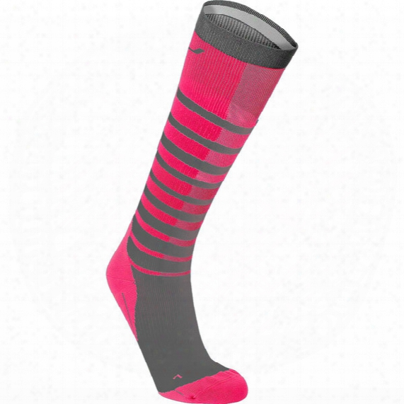 Striped Run Compression Socks - Womens