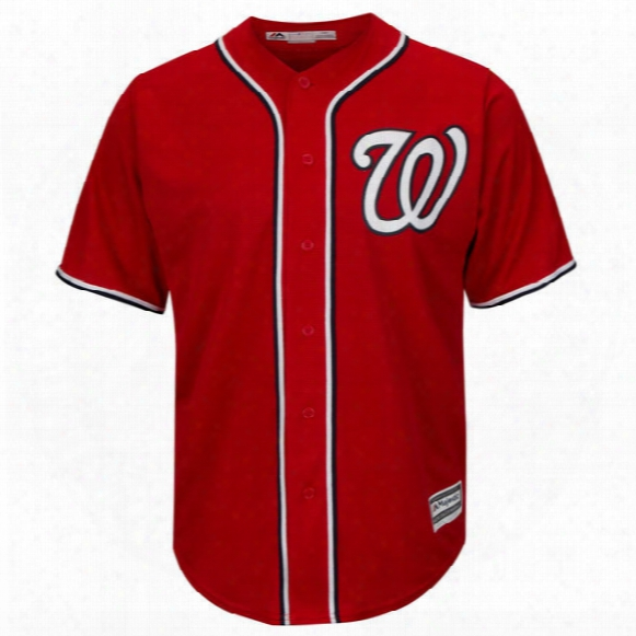 Washington Nationals Bryce Harper Red Alternate Cool Base Player Jersey - Youth