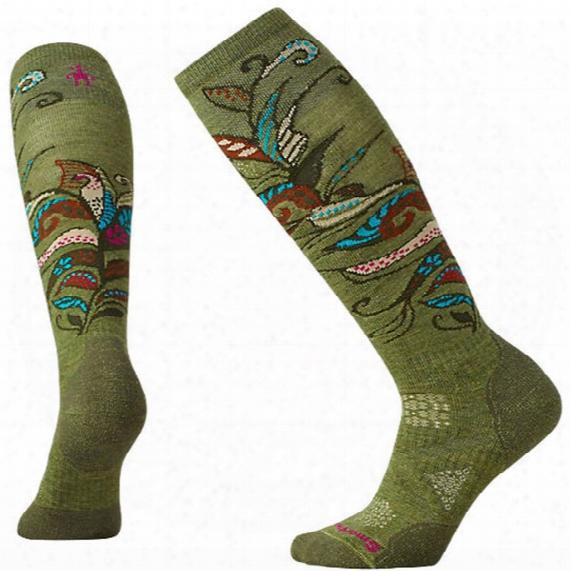 Women's Phdã'â® Ski Medium Pattern Socks
