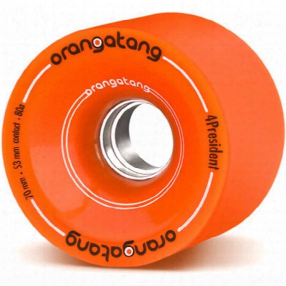 4 Presidents 70/80 Orange Skateboard Wheels