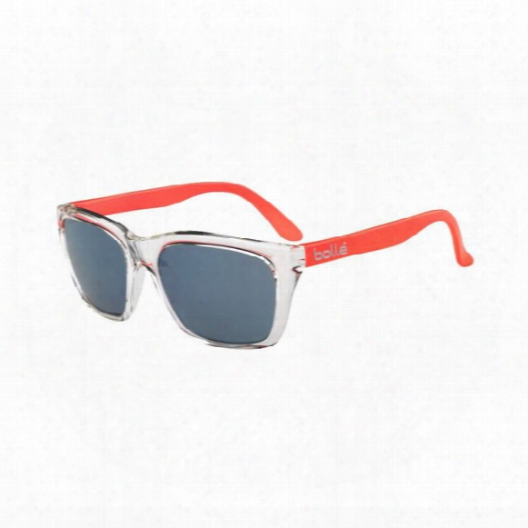 527 Sunglasses - Gb10 Grey With Metallic Blue Mirror Lens
