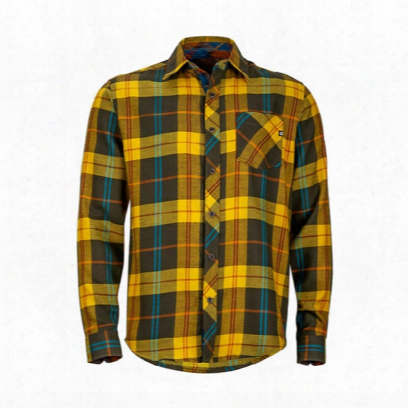Anderson Flannel Long Sleeve Shirt - Mens