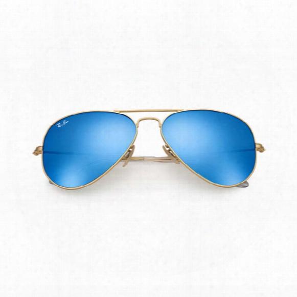 Aviator Sunglasses � Blue Flash Lens