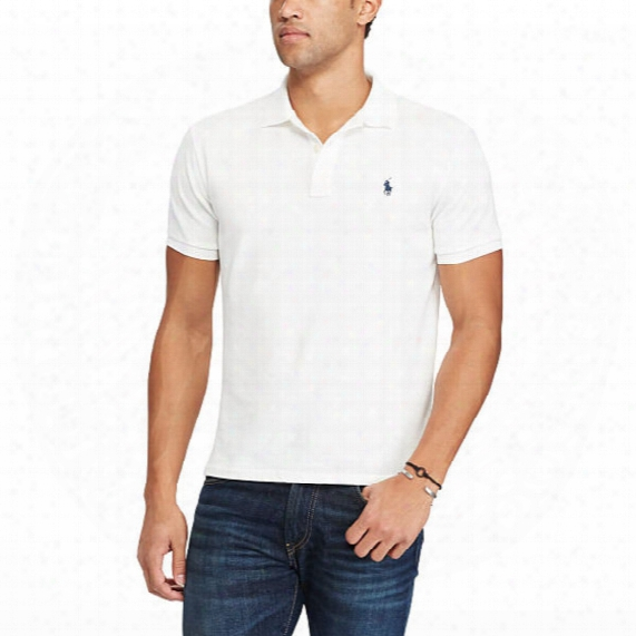 Custom Slim Fit Spa Terry Polo � Mens