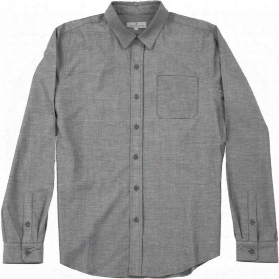 Five Day Wool Cotton Button Up Shirt - Mens