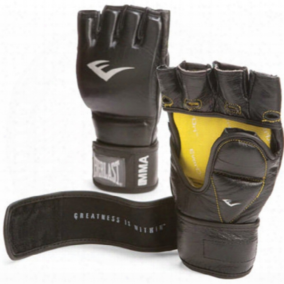 Leather Grappling Training Gloves - 7oz