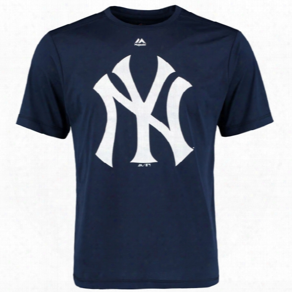 Mlb New York Yankees Official Logo T-shirt - Mens