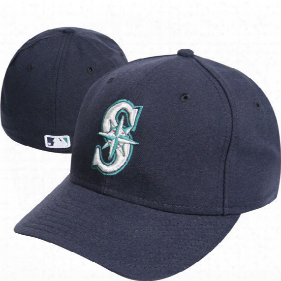 Mlb Seattle Mariners Authentic Game Performance 59fifty On-field Fitted Cap - Mens