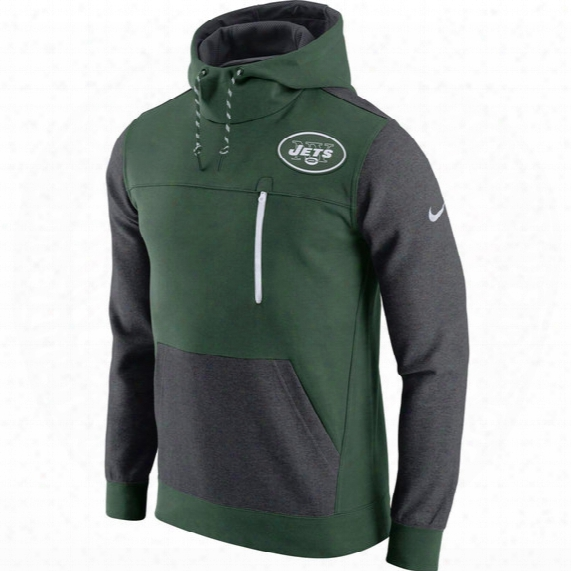 Nfl New York Jets Av15 Fleece Pullover Hoodie - Mens