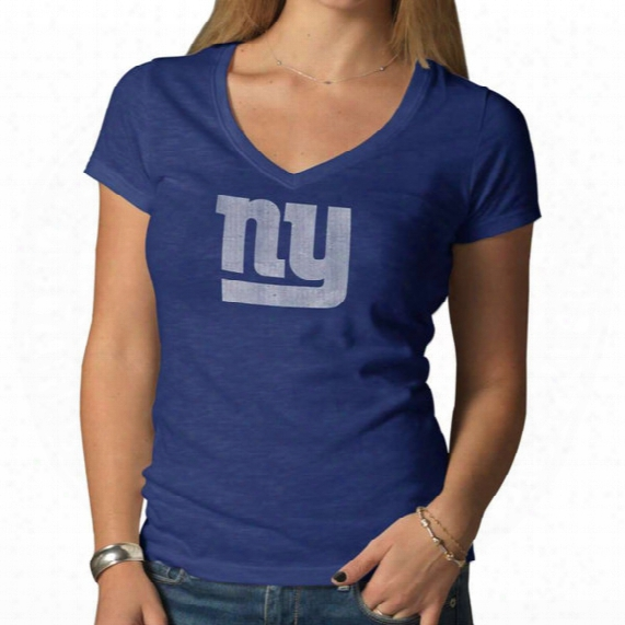 Nfl V-neck Scrum Tee - Womens