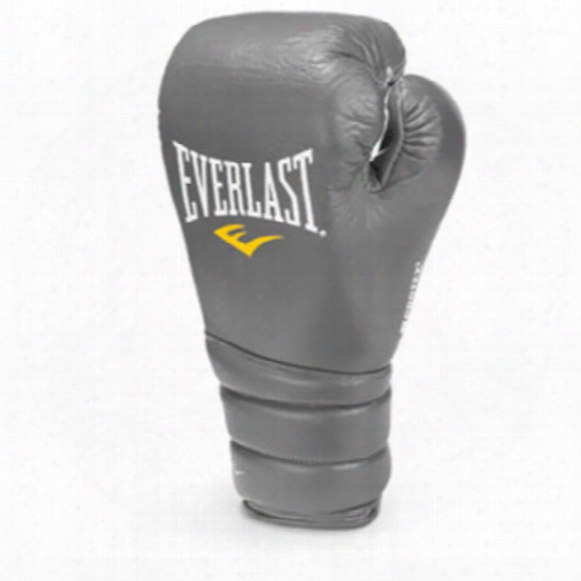 Protex 3 Pro Fight Extra Large Boxing Glove 10 Oz - Grey