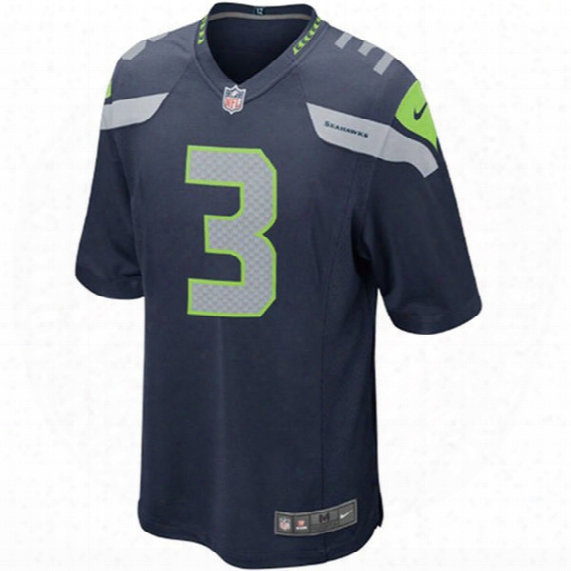 Seattle Seahawks Game Jersey (russell Wilson ) - Youth