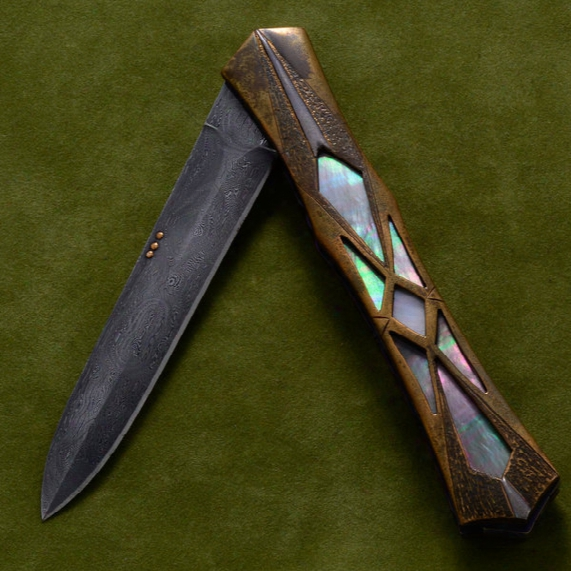 Secret Window Folder Knife