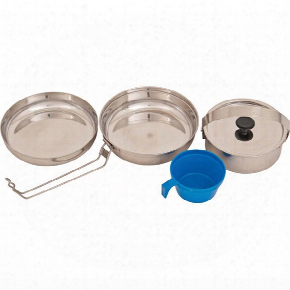 Stainless Steel Mess Kit Cookset