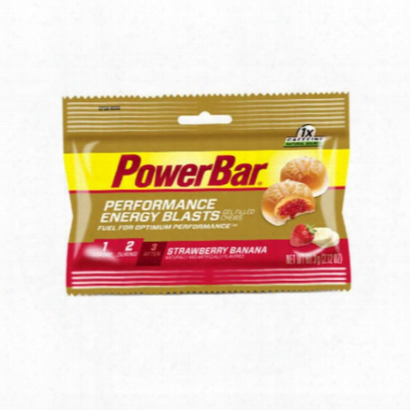 Strawberry Banana Performance Energy Blasts